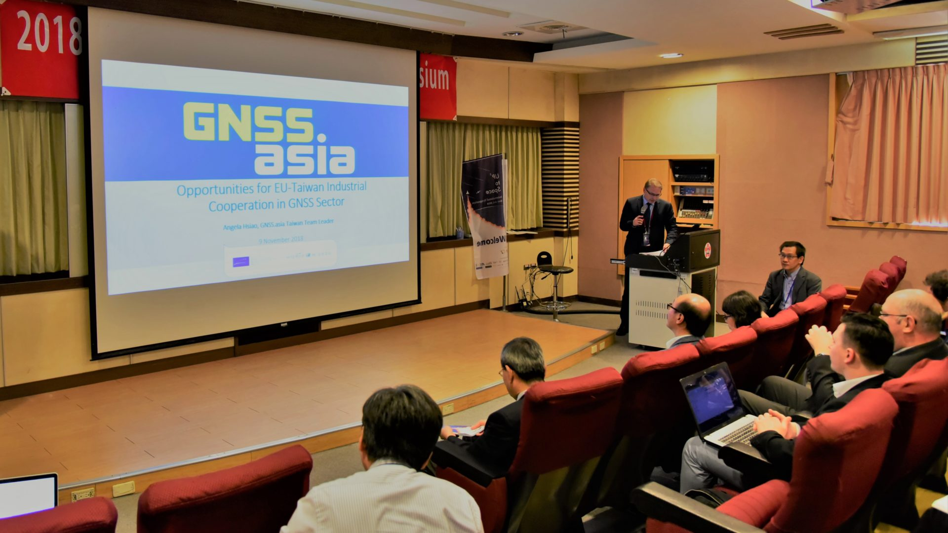 GNSS.asia 參與 2018 UP³ to Space International Symposium